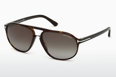 משקפי שמש Tom Ford Jacob (FT0447 52B) - חום, Dark, Havana