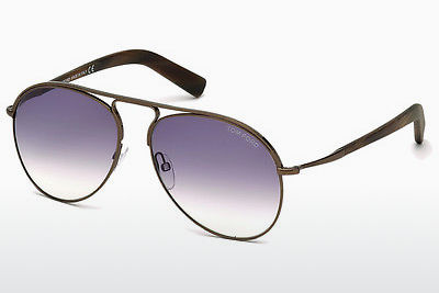 משקפי שמש Tom Ford Cody (FT0448 48Z) - חום, Dark, Shiny