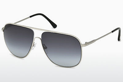 משקפי שמש Tom Ford Dominic (FT0451 16W) - כסוף, Shiny, Grey