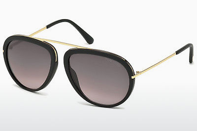 משקפי שמש Tom Ford Stacy (FT0452 02T) - שחור, Matt