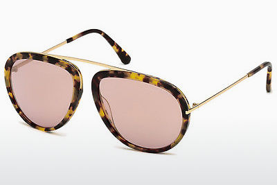 משקפי שמש Tom Ford Stacy (FT0452 53Z) - הוואנה, Yellow, Blond, Brown