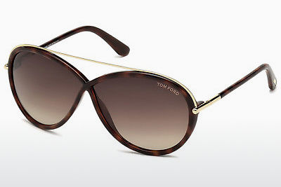 משקפי שמש Tom Ford Tamara (FT0454 52K) - חום, Dark, Havana