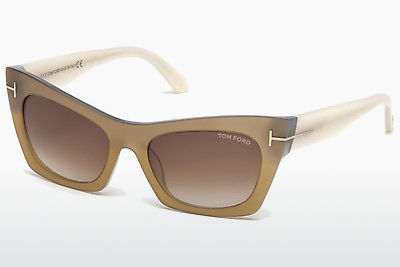 משקפי שמש Tom Ford FT0459 38F - ארד