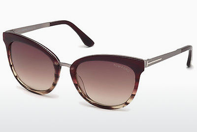 משקפי שמש Tom Ford Emma (FT0461 71F) - בורגונדי, Bordeaux