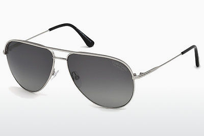 משקפי שמש Tom Ford FT0466 17D - אפור, Matt, Palladium