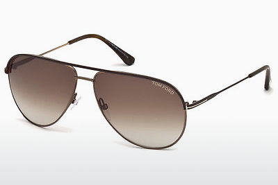 משקפי שמש Tom Ford Erin (FT0466 49E) - חום, Matt