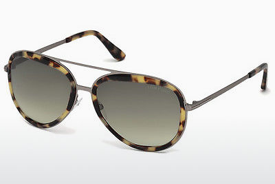 משקפי שמש Tom Ford FT0468 53P - הוואנה, Yellow, Blond, Brown