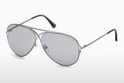 משקפי שמש Tom Ford Tom N.4 (FT0488-P 14C) - אפור, Shiny, Bright