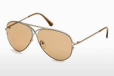 משקפי שמש Tom Ford Tom N.4 (FT0488-P 28E) - זהב