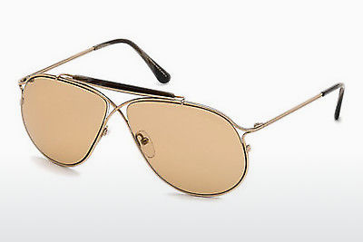 משקפי שמש Tom Ford Tom N.6 (FT0489-P 28E) - זהב
