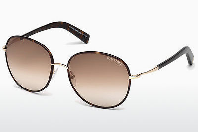 משקפי שמש Tom Ford Georgia (FT0498 52F) - חום, Dark, Havana