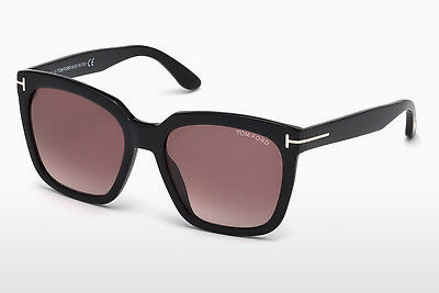 משקפי שמש Tom Ford Amarra (FT0502 01T) - שחור, Shiny