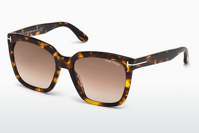 משקפי שמש Tom Ford Amarra (FT0502 52F) - חום, Dark, Havana