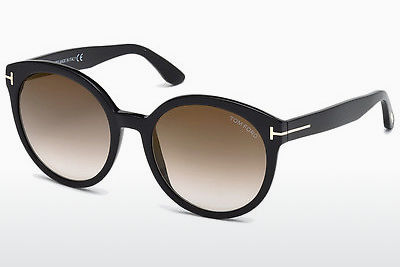 משקפי שמש Tom Ford Philippa (FT0503 01G) - שחור, Shiny