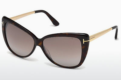 משקפי שמש Tom Ford Reveka (FT0512 52G) - חום, Dark, Havana