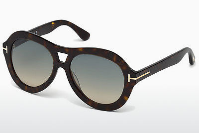 משקפי שמש Tom Ford Isla (FT0514 52W) - חום, Dark, Havana