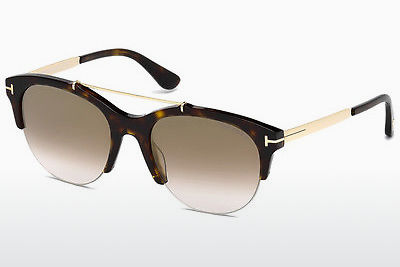 משקפי שמש Tom Ford Adrenne (FT0517 52G) - חום, Dark, Havana