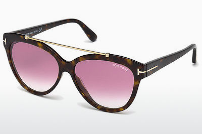 משקפי שמש Tom Ford Livia (FT0518 52Z) - חום, Dark, Havana