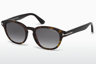 משקפי שמש Tom Ford Von Bulow (FT0521 52B) - חום, Dark, Havana