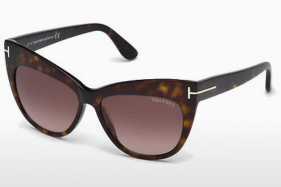 משקפי שמש Tom Ford Nika (FT0523 52F) - חום, Dark, Havana