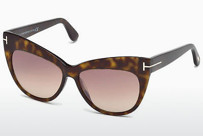 משקפי שמש Tom Ford Nika (FT0523 52G) - חום, Dark, Havana
