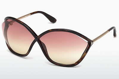משקפי שמש Tom Ford Bella (FT0529 52Z) - חום, Dark, Havana
