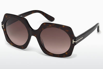 משקפי שמש Tom Ford Sofia (FT0535 52T) - חום, Dark, Havana
