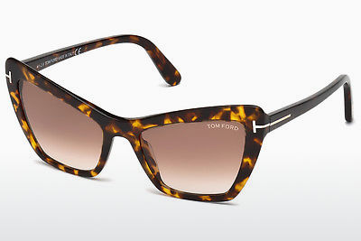 משקפי שמש Tom Ford Valesca (FT0555 52F) - חום, Dark, Havana