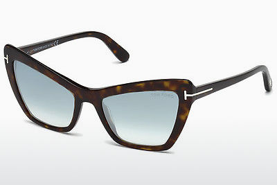 משקפי שמש Tom Ford Valesca (FT0555 52X) - חום, Dark, Havana