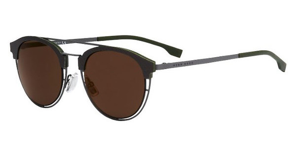 Boss BOSS 0784/S 97C/LC BROWN GOLD OLEOMATT GREY