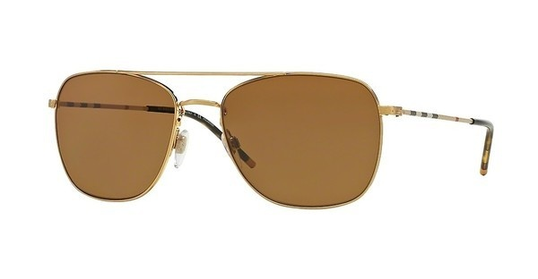 Burberry BE3079 105283 POLAR BROWNBRUSHED GOLD