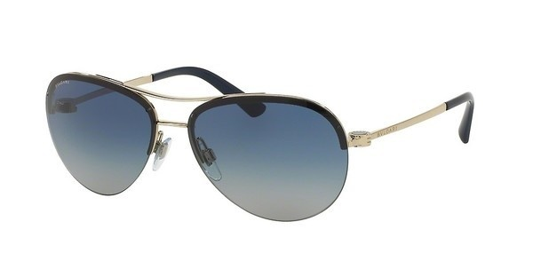 Bvlgari BV6081 278/4L LIGHT GREY GRADIENT BLUEPALE GOLD