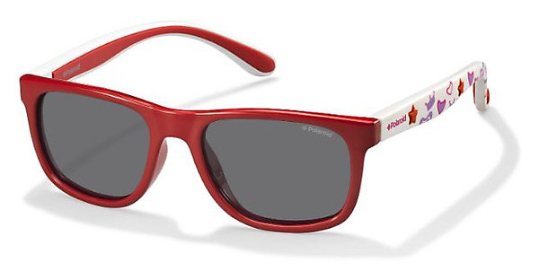 Polaroid Kids PLD 8012/S MC4/Y2 GREY PZCRL WHITE