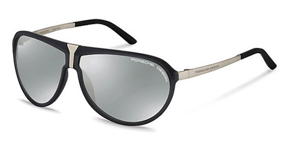 Porsche Design P8619 C silver mirroredgrey transparent