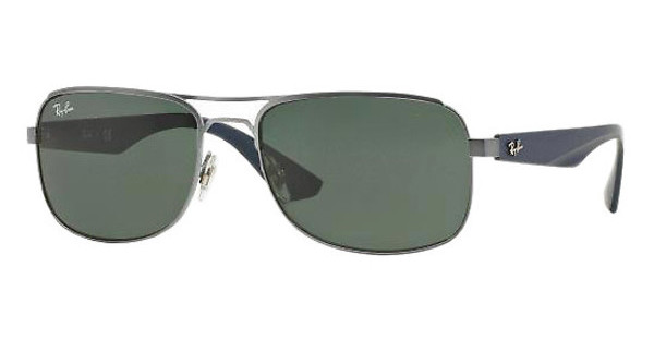 Ray-Ban RB3524 029/71 GRAY GREENMATTE GUNMETAL