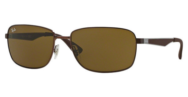Ray-Ban RB3529 012/73 DARK BROWNMATTE DARK BROWN
