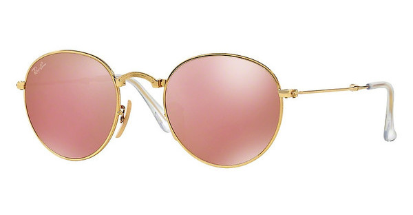 Ray-Ban RB3532 001/Z2 LIGHT BROWN MIRROR PINKGOLD