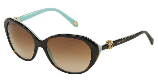 Tiffany TF4098 81343B BROWN GRADIENTHAVANA/BLUE