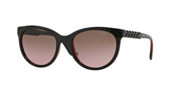 Vogue VO2915S 231214 PINK GRADIENT BROWNTOP BROWN/TRANSPARENT RED