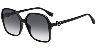 Fendi FF 0287/S 807/9O DARK GREY SFBLACK